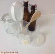 Happpy Kombucha Milk kefir Complete Home Starter Kit