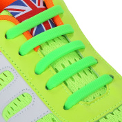 INMAKER No Tie Shoelaces for Kids and Adults, Silicone Flat Shoelaces for Sneaker, Elastic Waterproof Tieless Running Shoe Laces