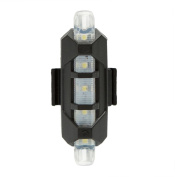 NEW Cycling 5 Pcs LED USB Bicycle Tail Warning Light,Tuscom@ Rechargeable Bike