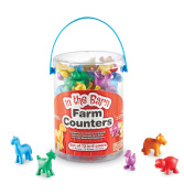Learning Resources Farm Counters