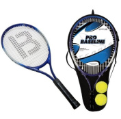 2 x JUNIOR ALUMINIUM TENNIS RACKETS WITH 2 TENNIS BALLS & CARRY CASE COVER EAN/MPN/UPC/ISBN