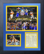 NBA Golden State Warriors Legends Never Die Framed Photo Collage, 2015 NBA Finals Champions, 28cm x 36cm