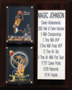 NBA Los Angeles Lakers Magic Johnson Career Stat Plaque
