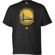 Golden State Warriors Black Primary Logo T-shirt