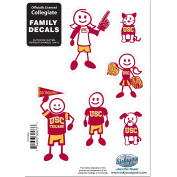 NCAA Family Character Decals, Large