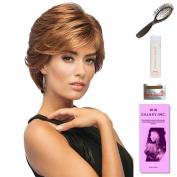 Sublime by Gabor, Wig Galaxy Hair Loss Booklet, 60ml Travel Size Wig Shampoo, Wig Cap, & Loop Brush (Bundle - 5 Items), Colour Chosen