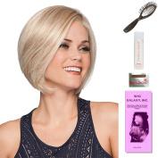 Opulence by Gabor, Wig Galaxy Hair Loss Booklet, 60ml Travel Size Wig Shampoo, Wig Cap, & Loop Brush (Bundle - 5 Items), Colour Chosen