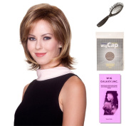 (4 Item Bundle) - (#BT-6011) Cover Girl by Belle Tress, Wig Brush, Booklet and a Free Wig Cap Liner.