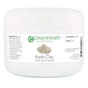 Kaolin Clay Powder - 100% Pure & Natural by GreenHealth