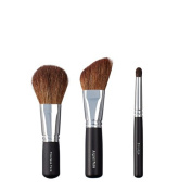 VEGAN LOVE Flawless Face Angled Face Brush Trio, Smudge
