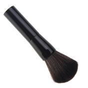 Premium Foundation Makeup Brush by Aguder Great for Blending Liquid, Cream & Mineral Cosmetics or Translucent Powder - Flawless Airbrush Application - Synthetic Bristles - Vegan Friendly
