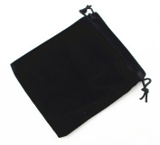 Pack of 25 Velvet Gift Bags Drawstring Jewellery Pouches Candy Bags Wedding Favours