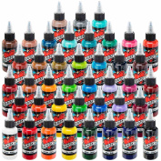 Millennium Mom's Tattoo Ink - 41 Colour Set - 30ml