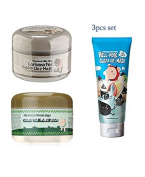 Elizavecca Bubble Clay Mask + Collagen Jella Pack + Hell- Pore Clean Up Nose Mask