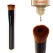 Makeup Brush,BeautyVan Flat Perfecting Face Premium Foundation Brush