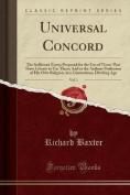 Universal Concord, Vol. 1