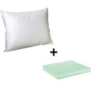 Litaf Toddler Pillow with Pillowcase, Mint