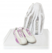 Metaltex shoe laundry bag nylon, white, 22 x 22 cm