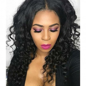 Ten Chopstics 9A Curly Human Hair Wigs Brazilian Gluesless Lace Front Wigs Unprocessed 100 Virgin Hair Lace Wig for Black Women Bleached Knots Natural Baby Hair