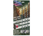 Team Twists Sports Green and White 3 pack