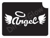 Angel Wings 1028 Body Art Glitter Makeup Tattoo Stencil- 5 Pack
