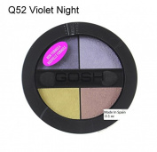 Gosh Quattro Eye Shadow Q 52 Violet Night
