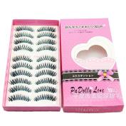 Eyelashes ,Baomabao Natural Long False Blue Eyelashes Charming Eye Lashes Makeup