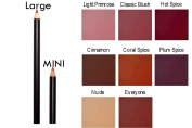 "Natural Mineral Lip Liner ""Coral Spice"" PARABEN & Dye Free Made in USA"