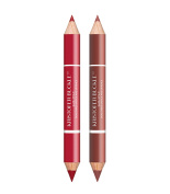 Kristofer Buckle Dual Ended Full Pigment Lipstick & Lip Pencil, Nude/Rouge