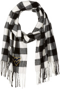 Buffalo Cheque Soft Fringe Scarf with Embroidered Wv Applique