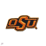 """Oklahoma State """"OSU"""" Primary Team Logo Iron On Embroidered Patch"""