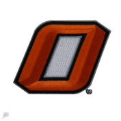 """Oklahoma State Primary """"O"""" Team Logo Iron On Embroidered Patch"""