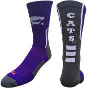 Kansas State Wildcats Perimeter Crew Socks