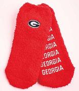 Super-Soft Collegiate Slipper Socks