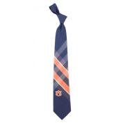 NCAA Woven Poly Grid Necktie With Team Logo