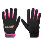 Greys G500 Gel Gloves Black/Neon Pink