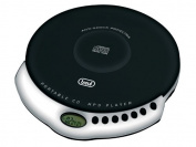 Trevi CMP498 Portable CD and MP3 Player with in Ear Headphones in Black and White