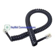 Yealink IP Phone SIP-T20P Replacement Handset Curly Cord Black HeyMot Communications