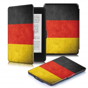 DHZ SmartShell Case for Kindle Paperwhite - The Lightest Leather Cover With Auto Sleep / Wake for Amazon Kindle Paperwhite (Fits All 2012, 2013, 2015 ,2016 Versions),Germany Flag