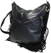 Leather Locking Concealed Carry Purse, Fringe Collection, Shoulder or Cross-Body, CCW