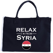 Chill Out And Relax. Im From Syria. Cool Gift Idea - Tote Bag
