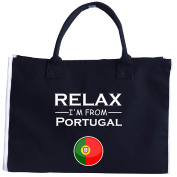Chill Out And Relax. Im From Portugal. Cool Gift Idea - Tote Bag