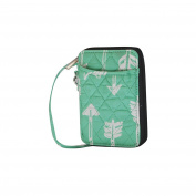 Mint Arrow Print NGIL Quilted Wristlet Wallet