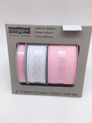 Celebrate IT- Ribbon - Adhesive Ribbon (set of 3) (Pink) 3 - 3 yd