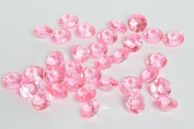 Acrylic Diamonds Gems Crystal Rocks for Vase Fillers, Party Table Scatter, Wedding, Photography, Party Decoration, Crafts by Royal Imports, 0.5kg - Pink