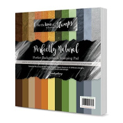 Hunkydory Crafts Perfect Background Stamping Pad Perfectly Natural 8x8 Paper Pad