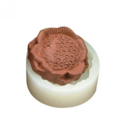 Single Sunflower Chocolate Candy and Soap Mould