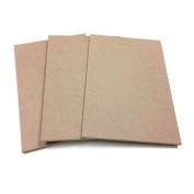 MDF Wood Craft Plaque Sign 18cm x 27cm , 3-pack