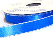 ACI PARTY AND SPIRIT ACCESSORIES Double Face Satin Ribbon, Royal