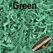 Mighty Gadget (R) 0.5kg Green Crinkle Cut Paper Shred Filler for Gift Wrapping & Basket Filling